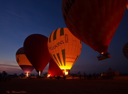 Hot-air baloon